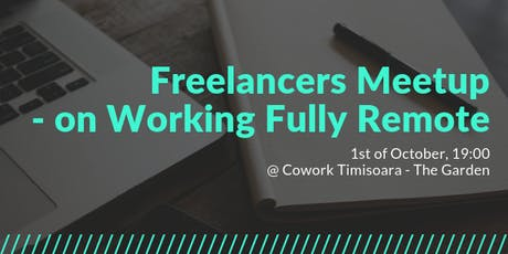 Freelancers Meetup - on Working Fully Remote tickets