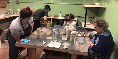 Ceramic Handbuilding Workshop for Beginners  tickets