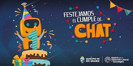 ¡Festejamos el Cumpleaños de Chat! entradas