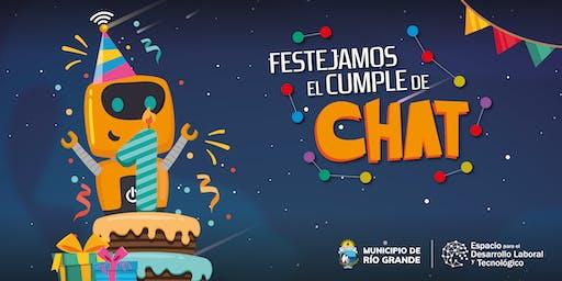 ¡Festejamos el Cumpleaños de Chat!