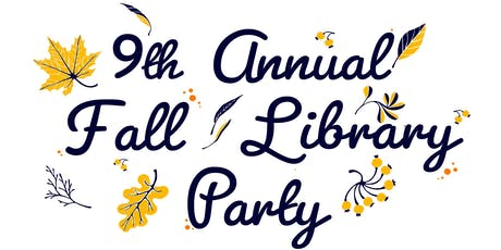 Fall Library Party and Art Auction tickets