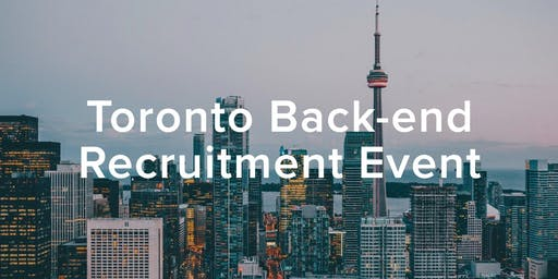 HiredEvents - Toronto Back-end Developer Recruitment (Jan 23)