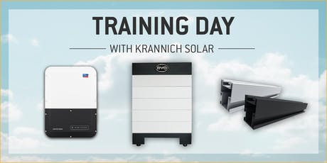 Krannich Solar Training with SMA, BYD, and Quick Mount PV tickets