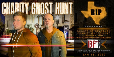Ghosts of Granbury with TWC - Chris and Mike tickets