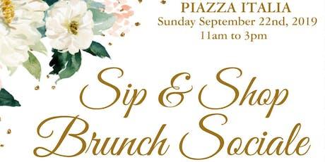 Sip & Shop Brunch Sociale tickets