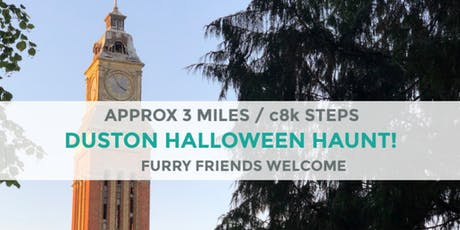 DUSTON SPOOKY TRAIL | 3 MILES | EASY | NORTHANTS tickets
