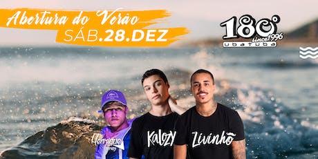 180 Ubatuba - Abertura Temporada ingressos