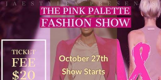 Pink Palette Fashion Show
