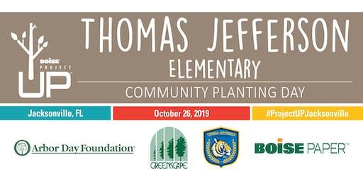 Boise Project UP: Thomas Jefferson Elementary Community Planting Day
