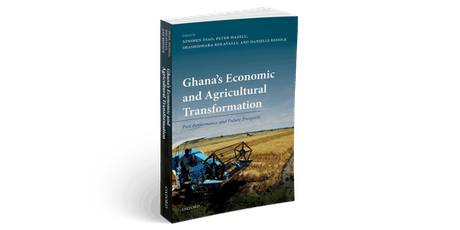"Book Launch, ""Ghana's economic and agricultural transformation: Past performance and future prospects"" tickets"