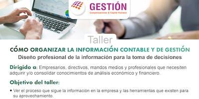 Taller: Cómo organizar la información Contable y de Gestión