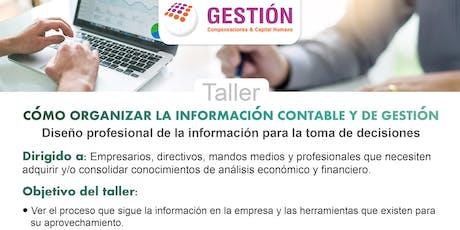 Taller: Cómo organizar la información Contable y de Gestión entradas