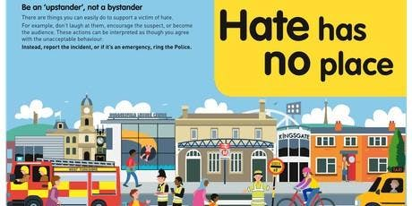 Hate Has  No Place - Staff Briefing tickets