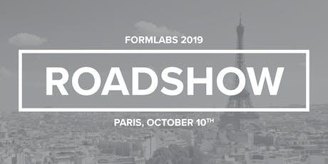 Roadshow formlabs 2019 billets