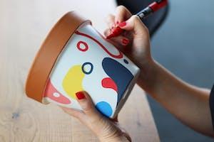 Happy Mondays: Illustrate your own Plant Pot