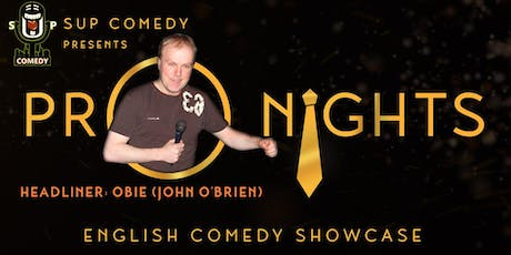 SUP Comedy's 'Pro Nights' Obie (Scotland) tickets