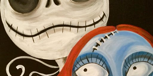 Paint with Art U - Jack & Sally