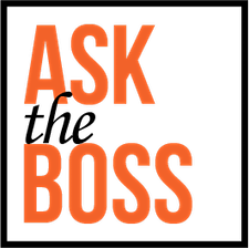 Ask The Boss logo