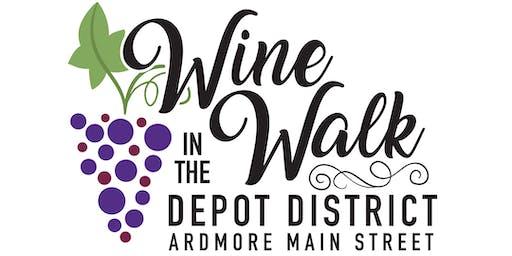 Depot District Wine Walk