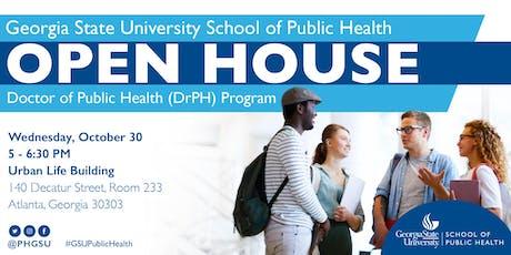 Georgia State University School of Public Health Open House - DrPH Program tickets