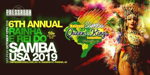 Samba Queen and King Comp 2019 @ The Pressroom