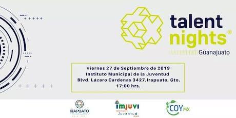 Talent Night Guanajuato Septiembre 2019 entradas
