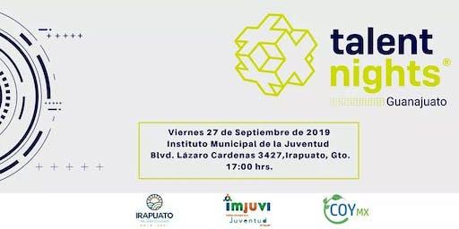 Talent Night Guanajuato Septiembre 2019