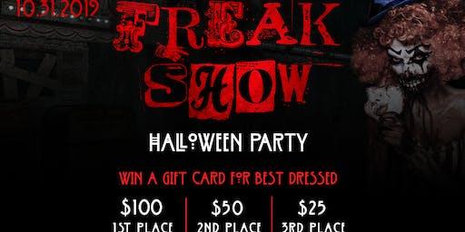 Freak Show Halloween Party at Jack's Corner Tap