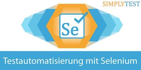 Testautomatisierung mit Selenium in der Praxis - Schulung  Tickets