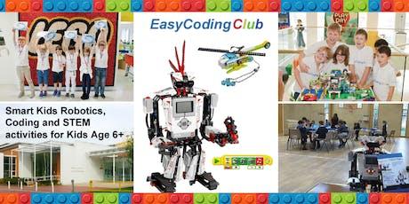Fun Lego Robotics, Coding & STEM Workshop - Basic Course (Aged 6+) Woolwich tickets