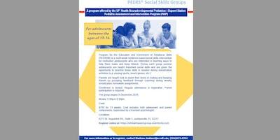 Dec 2019 - PEERS - Social Skills Intervention - 13 week series for $750