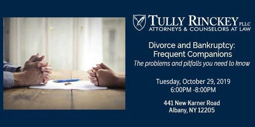 Divorce and Bankruptcy: Frequent Companions