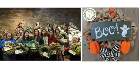 Boo! Burlap Wine & Wreaths at Flipdaddy's Newport tickets