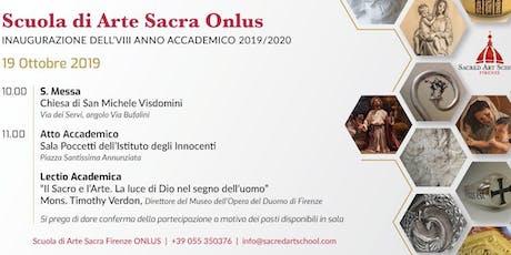 Inaugurazione dell'VIII Anno Accademico 2019/2020 biglietti