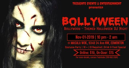 BOLLYWEEN  (Bollywood-Themed  Halloween DJ Night) tickets