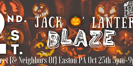 2nd Street Easton Jack O'Lantern BLAZE