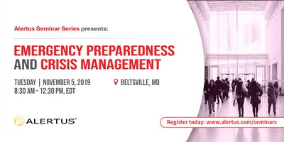 Emergency Preparedness and Crisis Management