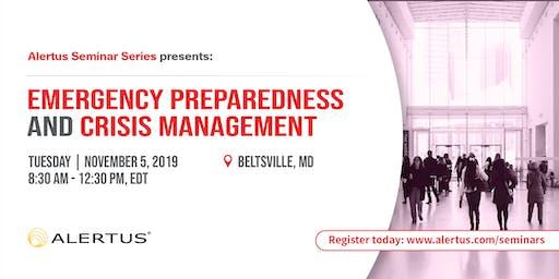 Emergency Preparedness and Crisis Management