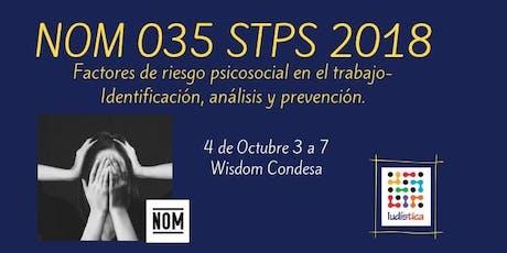Sesión informativa NOM 035 STPS 2018   4 Oct entradas