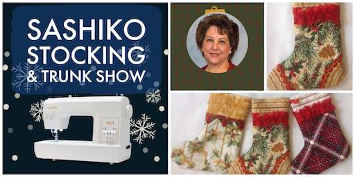 Sashiko Stocking Class & Trunk Show