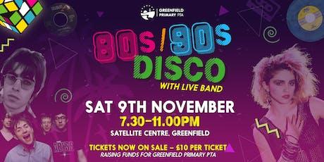 Greenfield PTA's 80/90s Night tickets