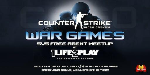 CounterStrike:GO War Games: A 5v5 Free Agent Meetup