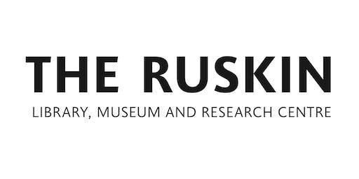 Ruskin Seminar with Franziska Schenk