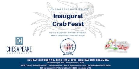 Inaugural Chesapeake Hospitality Crab Feast tickets