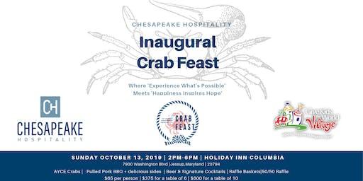 Inaugural Chesapeake Hospitality Crab Feast