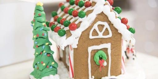 Decorate Your Own Gingerbread House & Drink Hot Coco