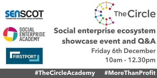 The Circle Networking - Social enterprise ecosystem showcase event and Q&A