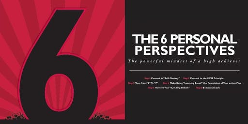 6 Personal Perspectives w/ Cheryl McDonald: Move From E to P