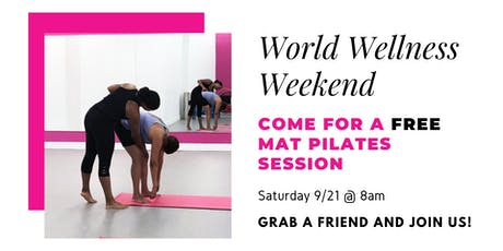 FREE Mat Pilates Session tickets