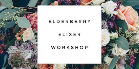 Elderberry Elixir and Immune Boosting Workshop tickets